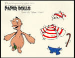 Paper Doll 'where's waldo?'