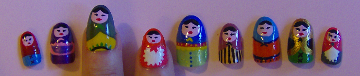 Russian Dolls by KayleighOC