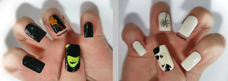 Wicked nail art by kayleighoc on deviantart wicked nail art by kayleighoc prinsesfo Choice Image
