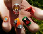 Mars Attacks! Nail Art