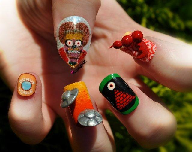 Mars Attacks! Nail Art by KayleighOC