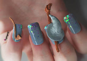 Gandalf The Grey Nail Art