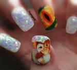 Gremlins Nail Art