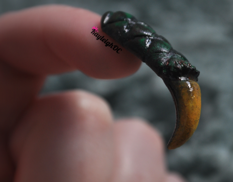 Dragon claw nail art by kayleighoc on deviantart dragon claw nail art by kayleighoc prinsesfo Image collections