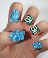 Breaking Bad Nail Art by KayleighOC