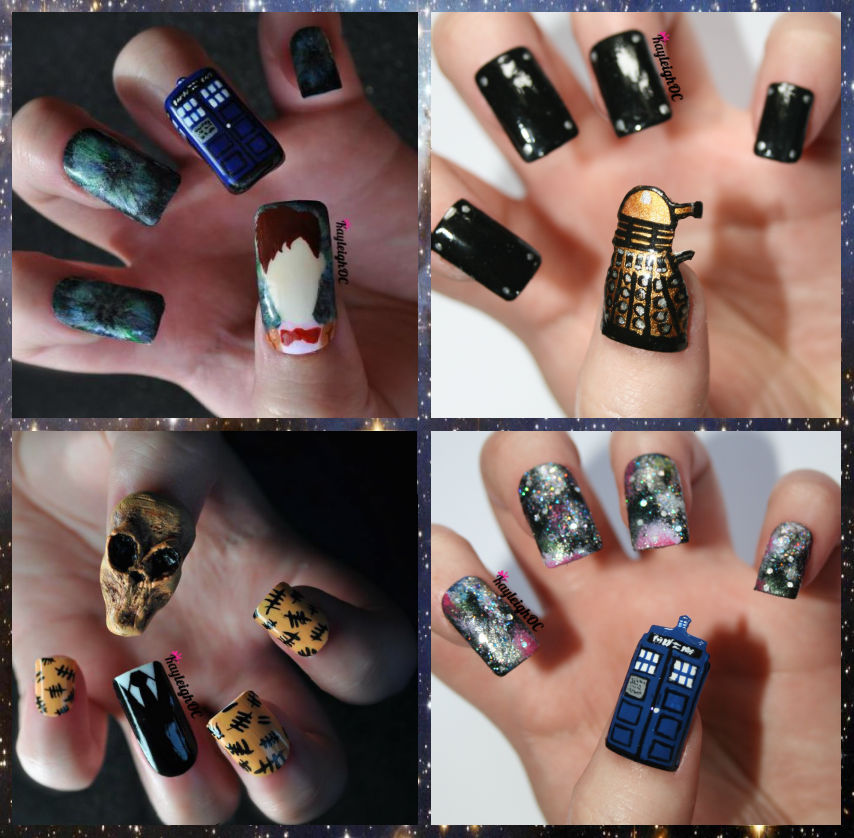Doctor Who Nail Art Collection