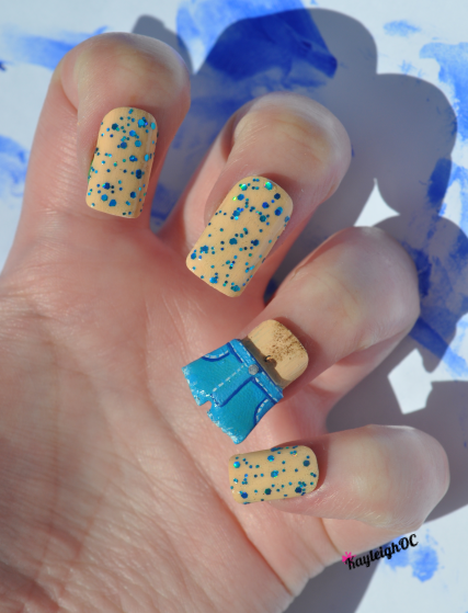 Arrested Development Nail Art - Never Nude by KayleighOC