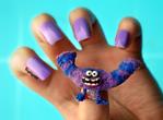 Monsters University Nails - Art