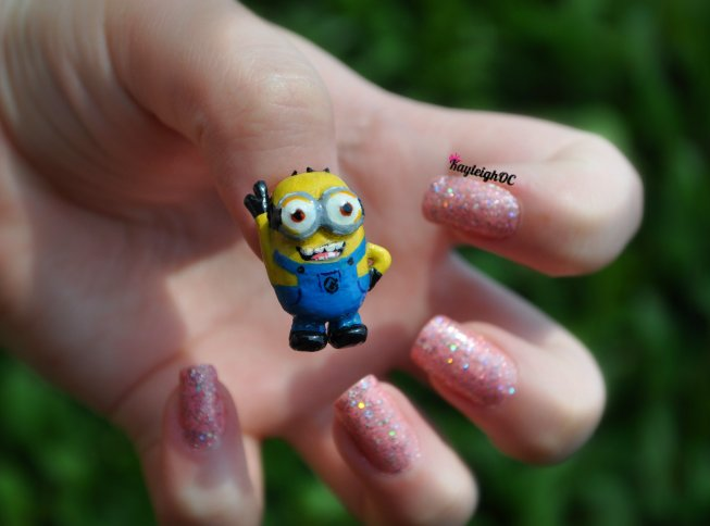 Despicable Me Nail Art 3d Minion By Kayleighoc On Deviantart