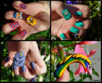 Adventure Time Nail Art Collection