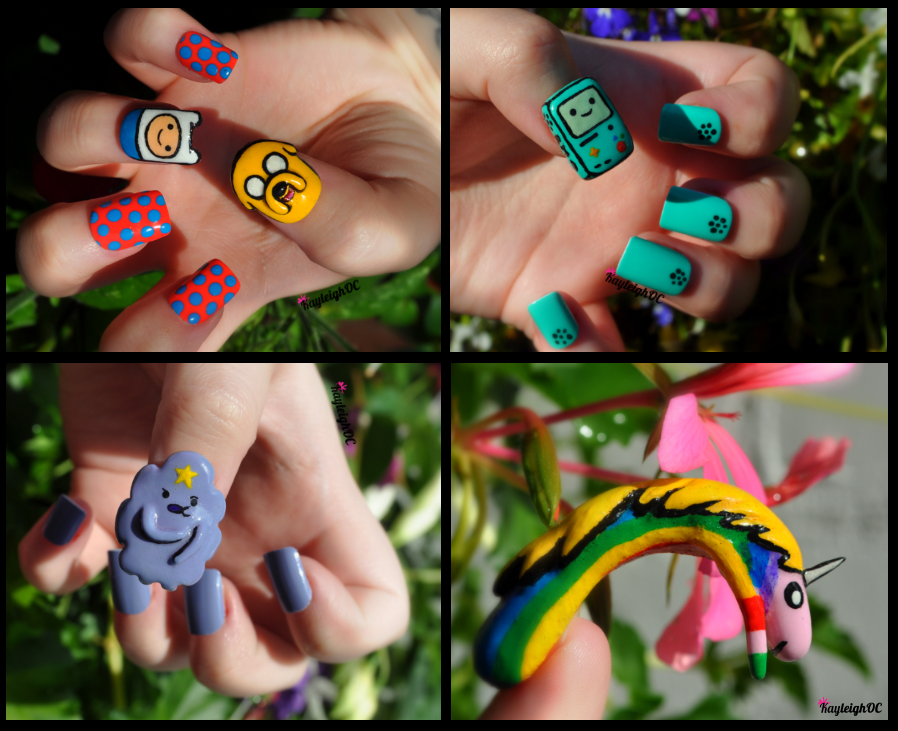 Adventure Time Nail Art Collection By Kayleighoc On Deviantart