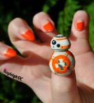 Star Wars BB-8 Nail Art