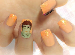 Louis Theroux Nail Art