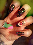 Rocky Horror Nails - Dr. Frank-N-Furter by KayleighOC