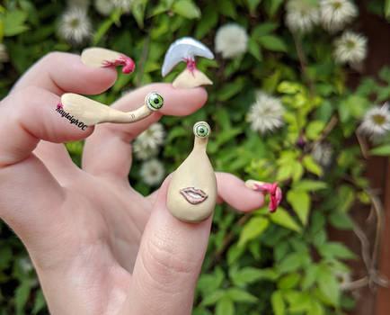 Parasyte: The Maxim 3D Nail Art