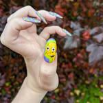 Mr Burns Nail Art