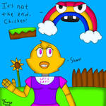 Chica's mini game (FNaF World)  by Kost-the-cheshirecat