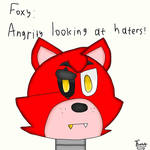Angry Foxy  by Kost-the-cheshirecat