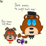 Freddy's new Pet.  by Kost-the-cheshirecat