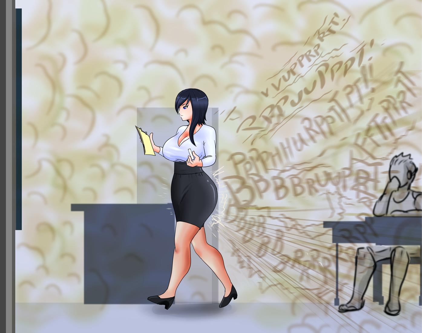 Girl Fart In Tub Deviantart: (Fanart) Professor Diza By Leshawk On DeviantArt