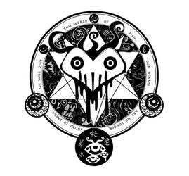 The Magic Circle of fan art by Eekah