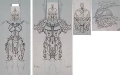 Torchlight II Armor Contest - WIP