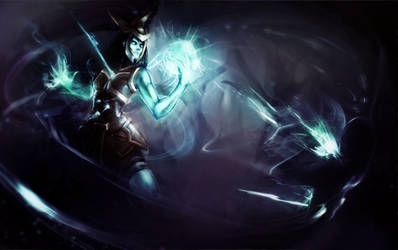 Kalista [Polycount/Riot Games Contest]