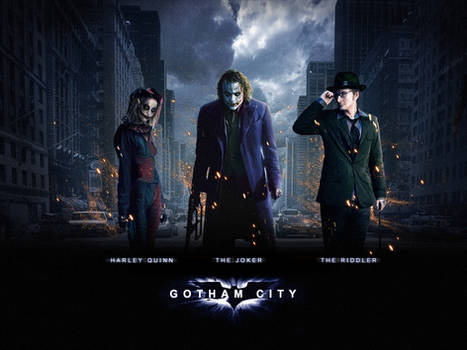 Batman: Gotham City Wallpaper