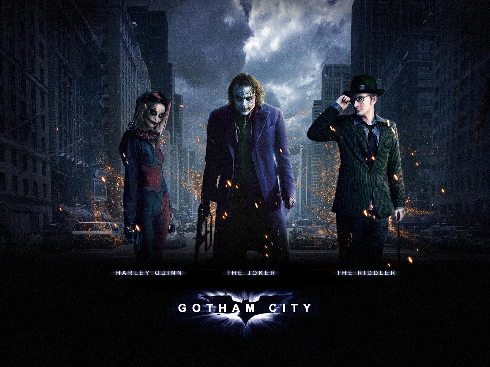 batman: gotham city wallpaperbilloi on deviantart