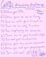 Catty's Drawing Challenge!! by Cattelyn