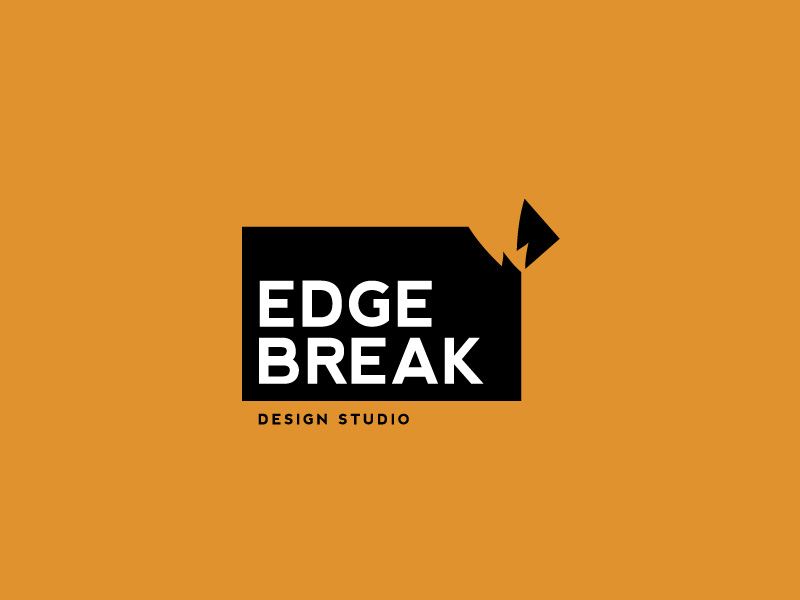 Edge Break Logo by jeetdesignz