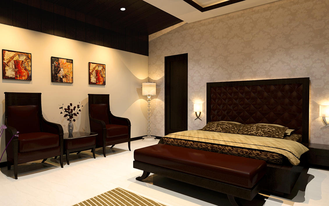 Bedroom interior by jeetdesignz on deviantart for Bed design photos