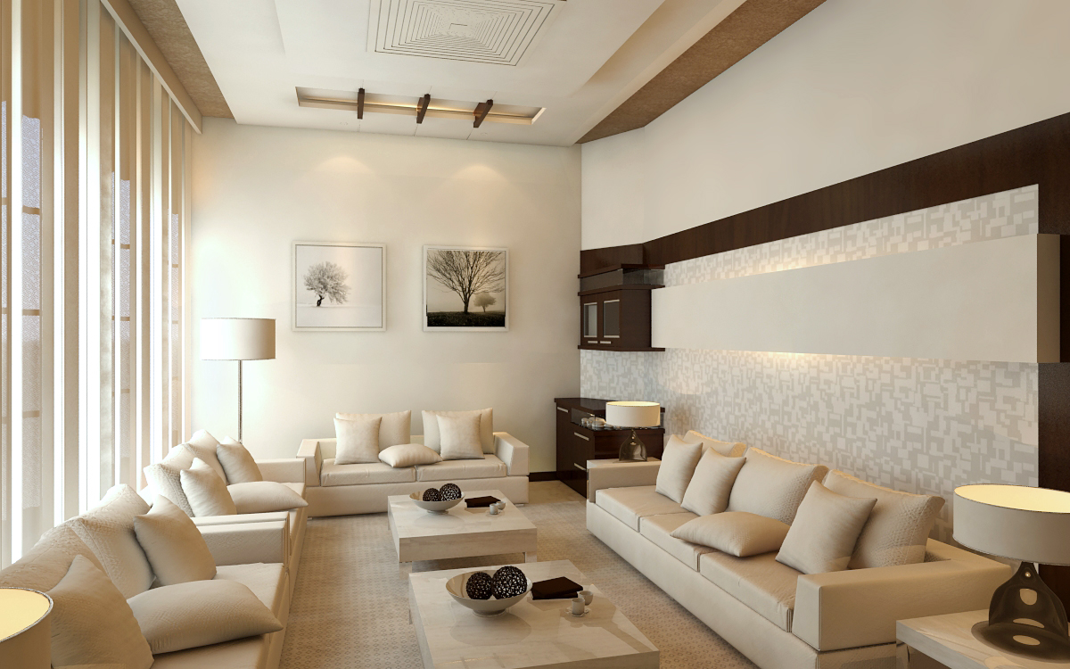 Drawing Room Setting In Pakistani Style