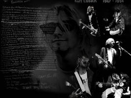 Kurt Cobain's Wallpaper by Cosmiksquirel