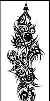 Tribal Tattoo by Cosmiksquirel