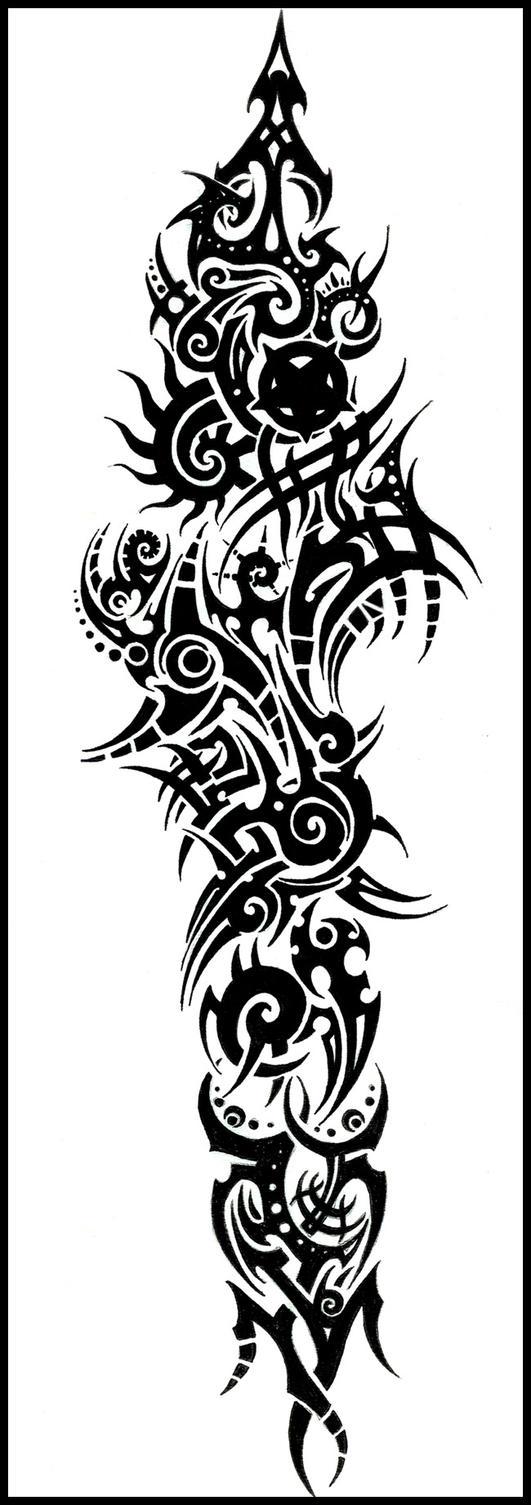 Acacia Wellington (WIP) Tribal_Tattoo_by_Cosmiksquirel