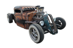 Rat rod  Stock image