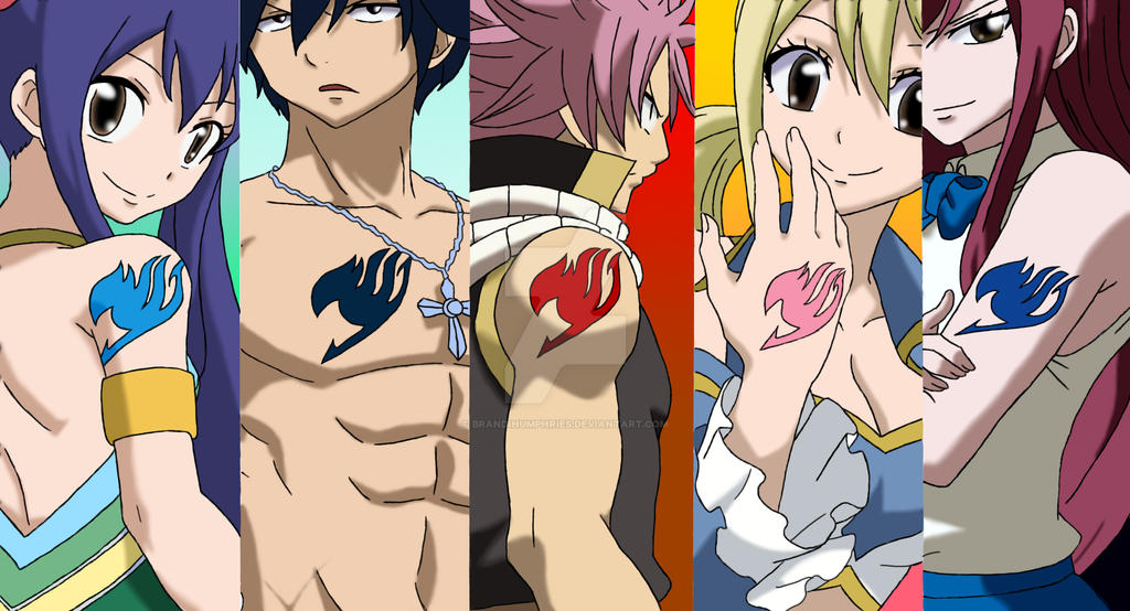 Fairy Tail Group by BrandiHumphries