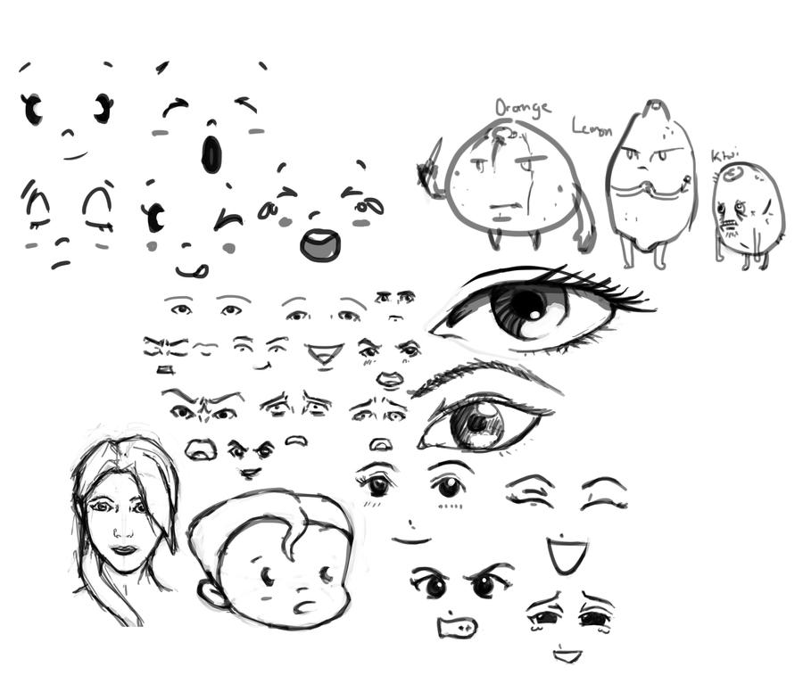 Random Sketches 22nd Dec 2012 by KidneyShake