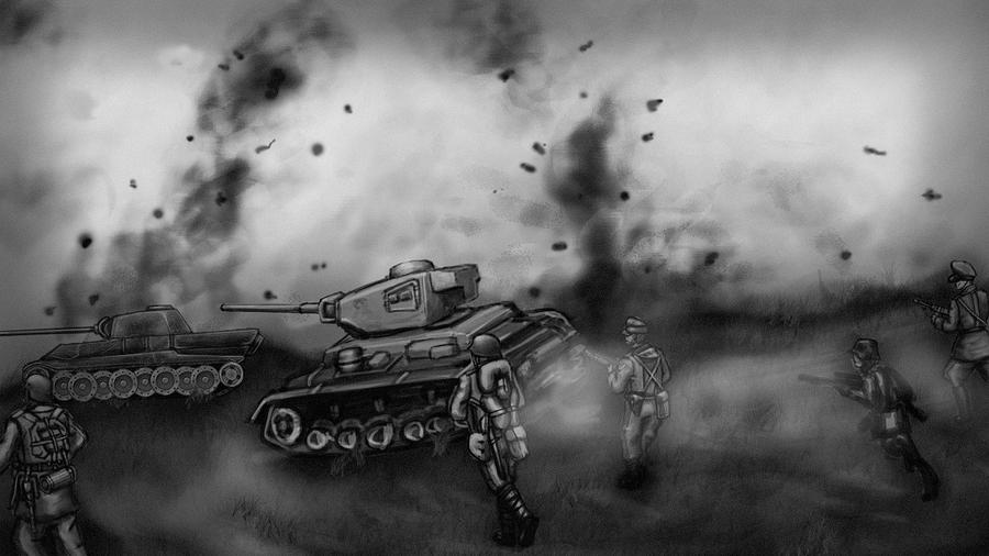 Tank Game Main Menu by KidneyShake