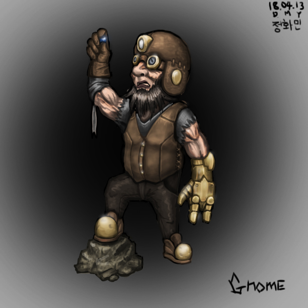 Gnome by KidneyShake