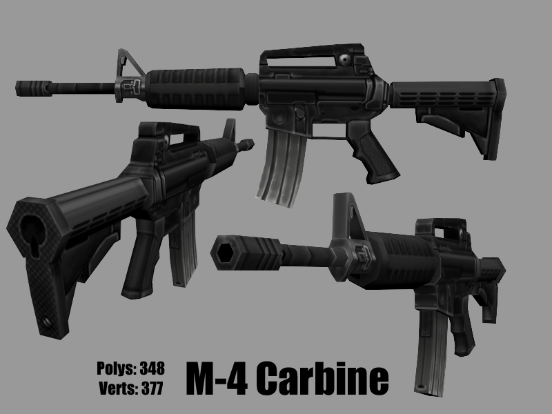 M-4 Carbine by KidneyShake