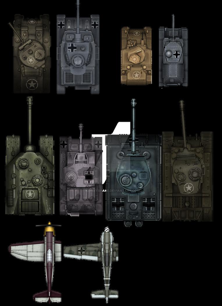 Ground War Resources by KidneyShake