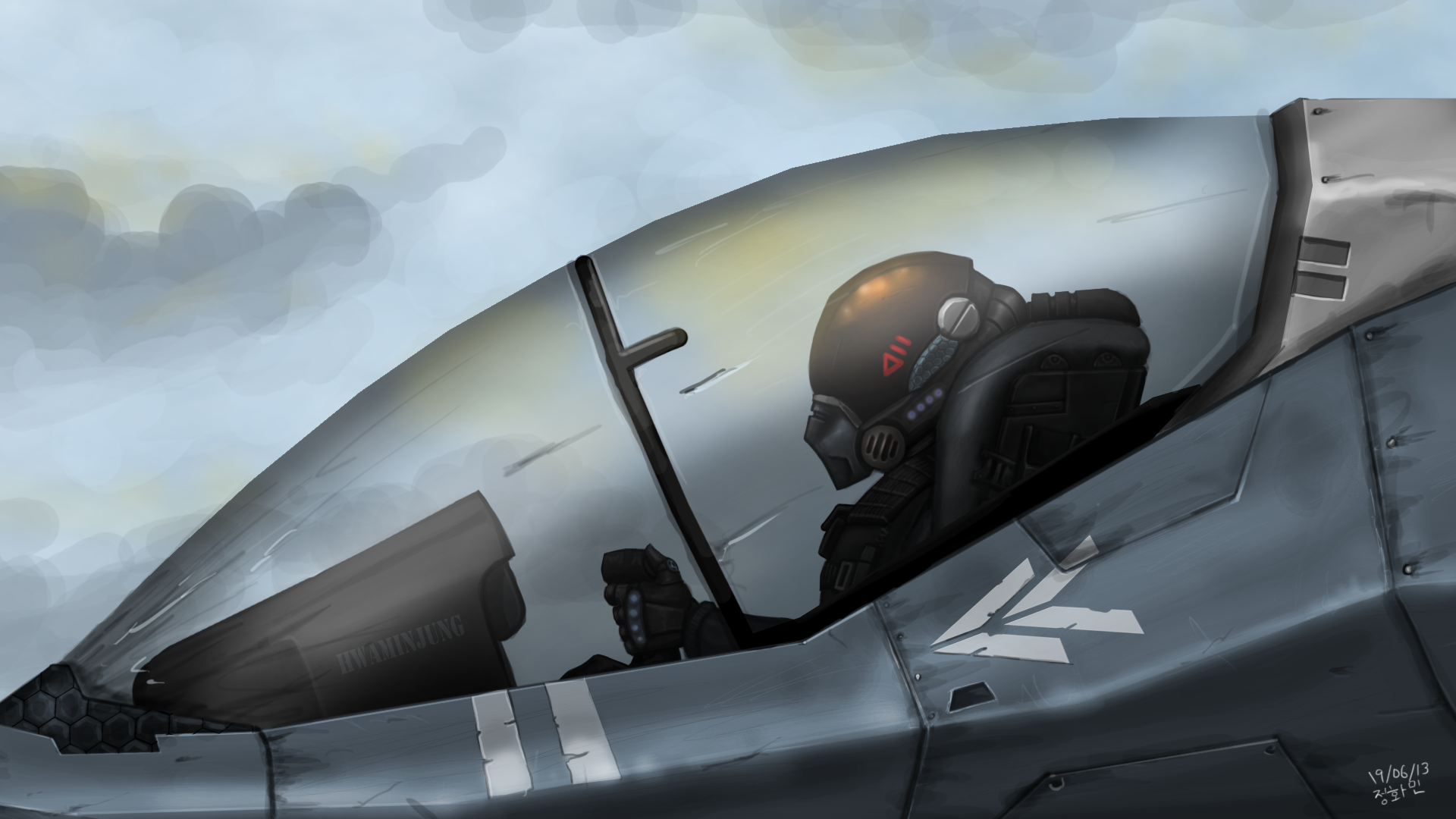 Fighter Pilot by KidneyShake