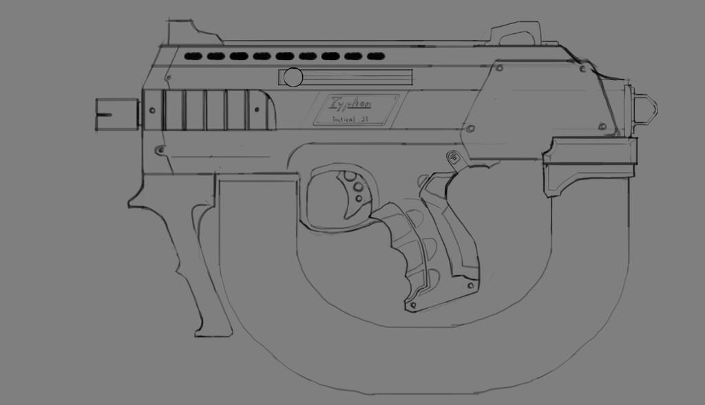 Engi SMG - Typhon UB-24, Tactical Series by KidneyShake