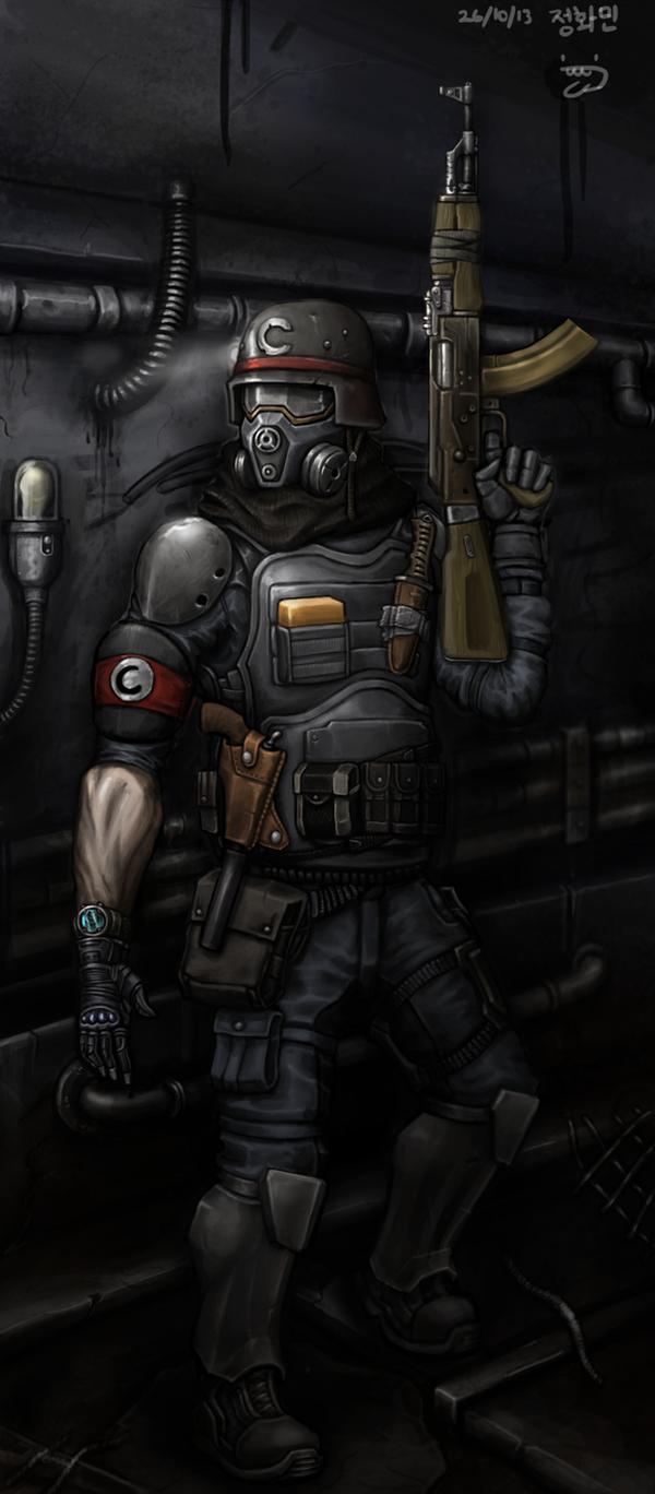 ReichSoldier by KidneyShake