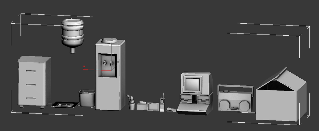 Office Supplies (Work in Porgress) by KidneyShake