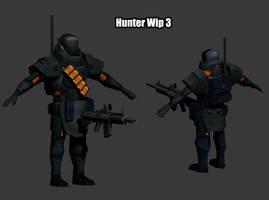 Hunter Wip 3 by KidneyShake
