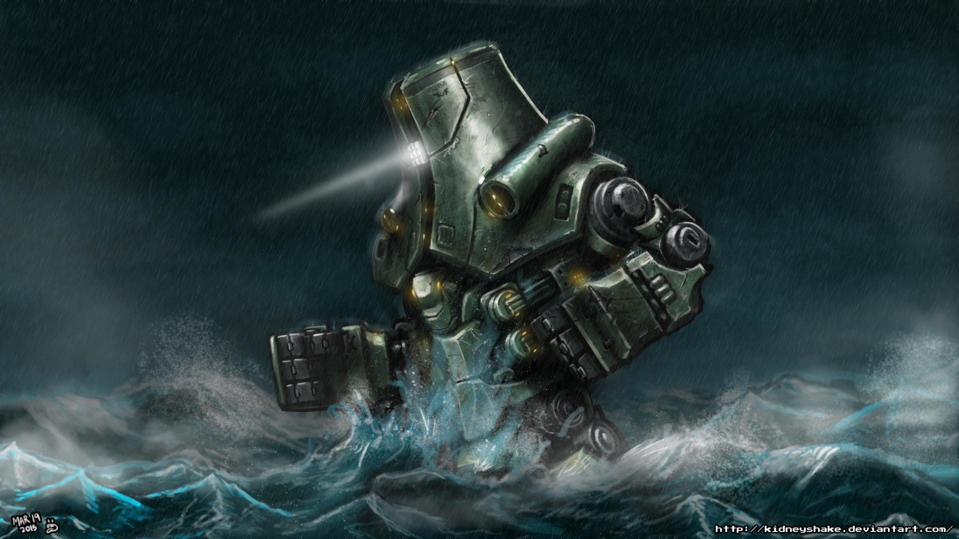 Pacific Rim - Cherno Alpha by KidneyShake on DeviantArt