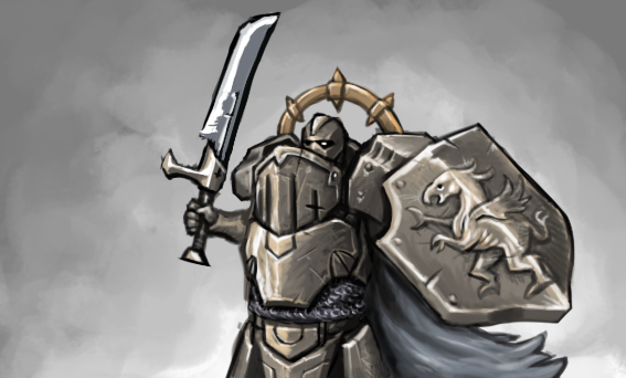 Knight by KidneyShake